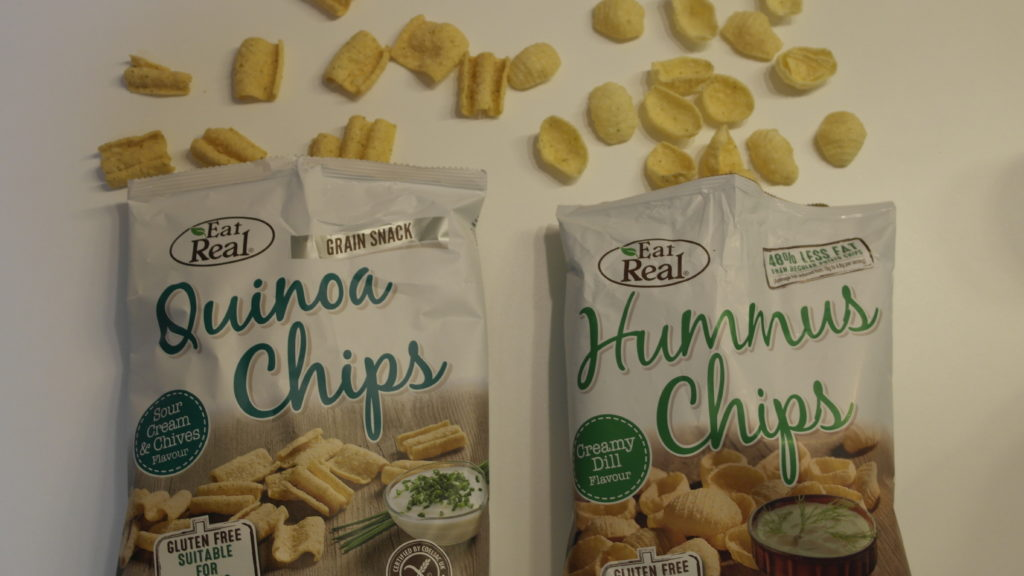 Eat Real Hummus Quinoa Chips Gesunde Alternative Freitest De