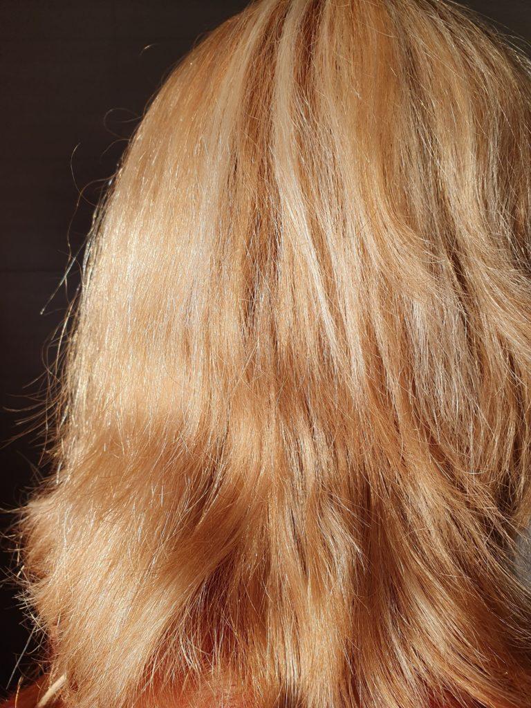 Blond spray braune haare