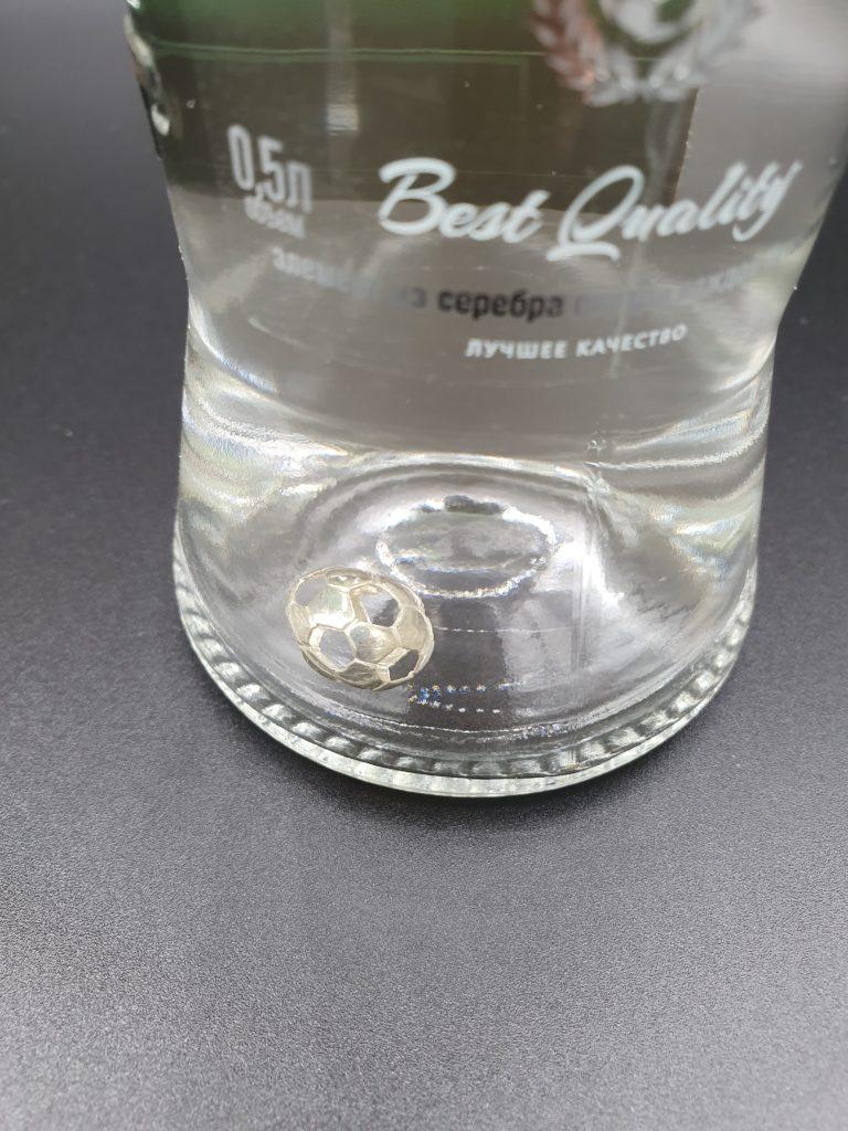 Vodka CHAMPION №1 PREMIUM Silberner Ball