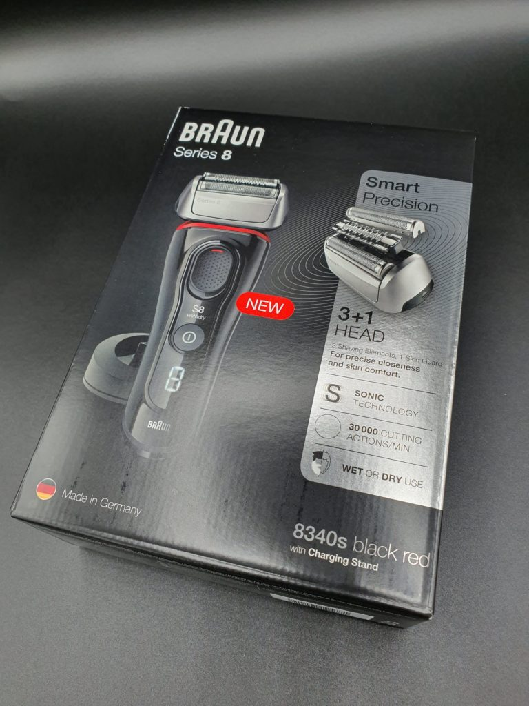 Verpackung Braun Series 8