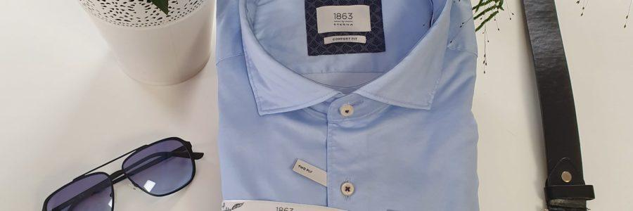 ETERNA 1863 Premiumhemd Hellblau