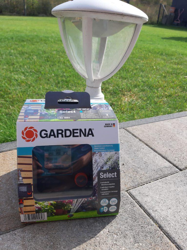 Gardena select Bewässerungssteuerung in Verpackung