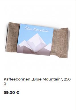 Blue Mountain von Kaffeekumpeln.de