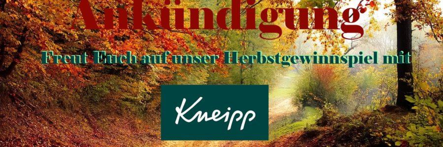 Kneipp Herbstgewinnspiel