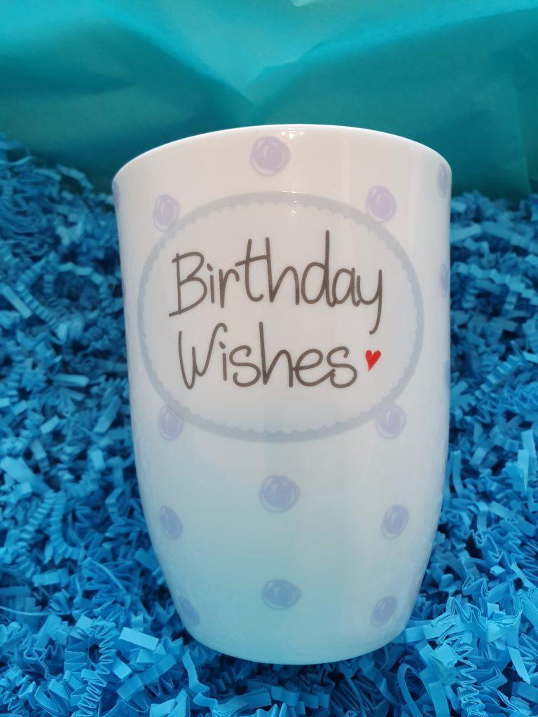 Geburtstagstasse