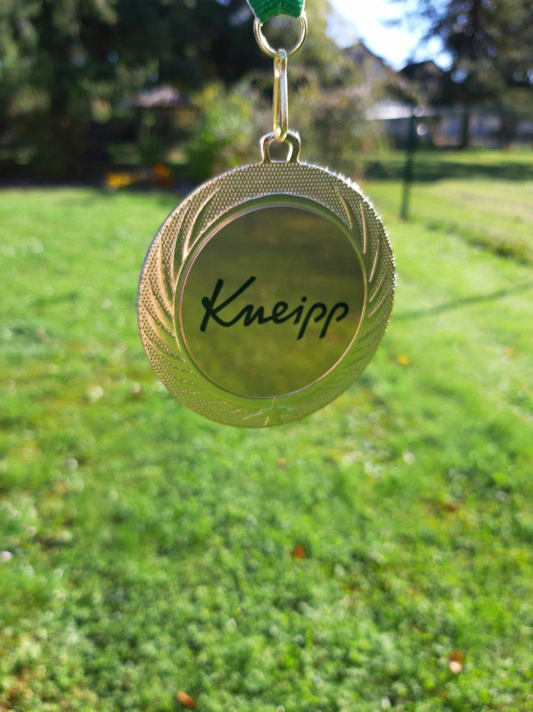 Kneipp Vip Autoren 2019 Medaille