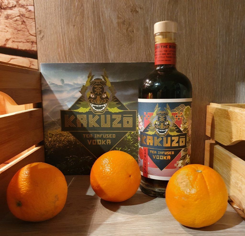 KAKUZO TEA INFUSED VODKA design