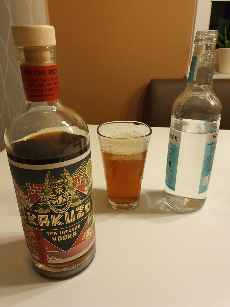 KAKUZO TEA INFUSED VODKA MEDITERRANEAN