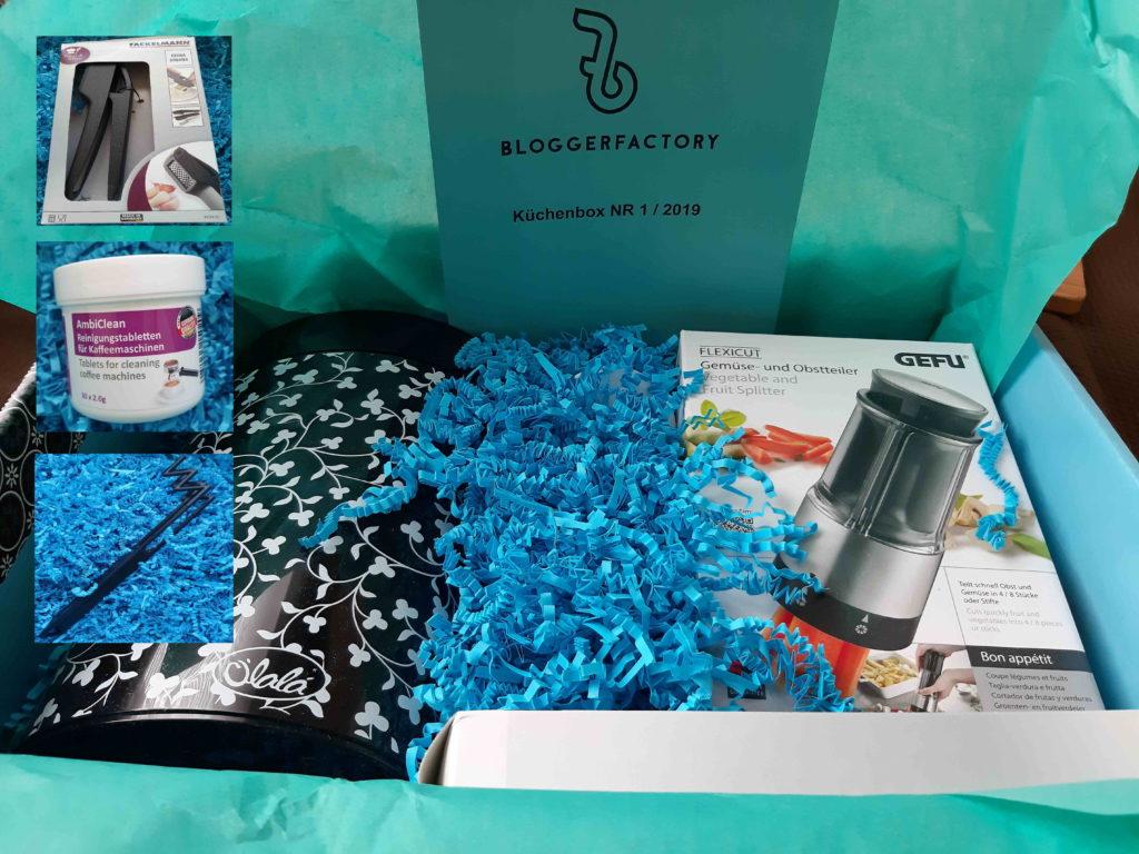 Gewinnspiel Bloggerfactory Küchenbox
