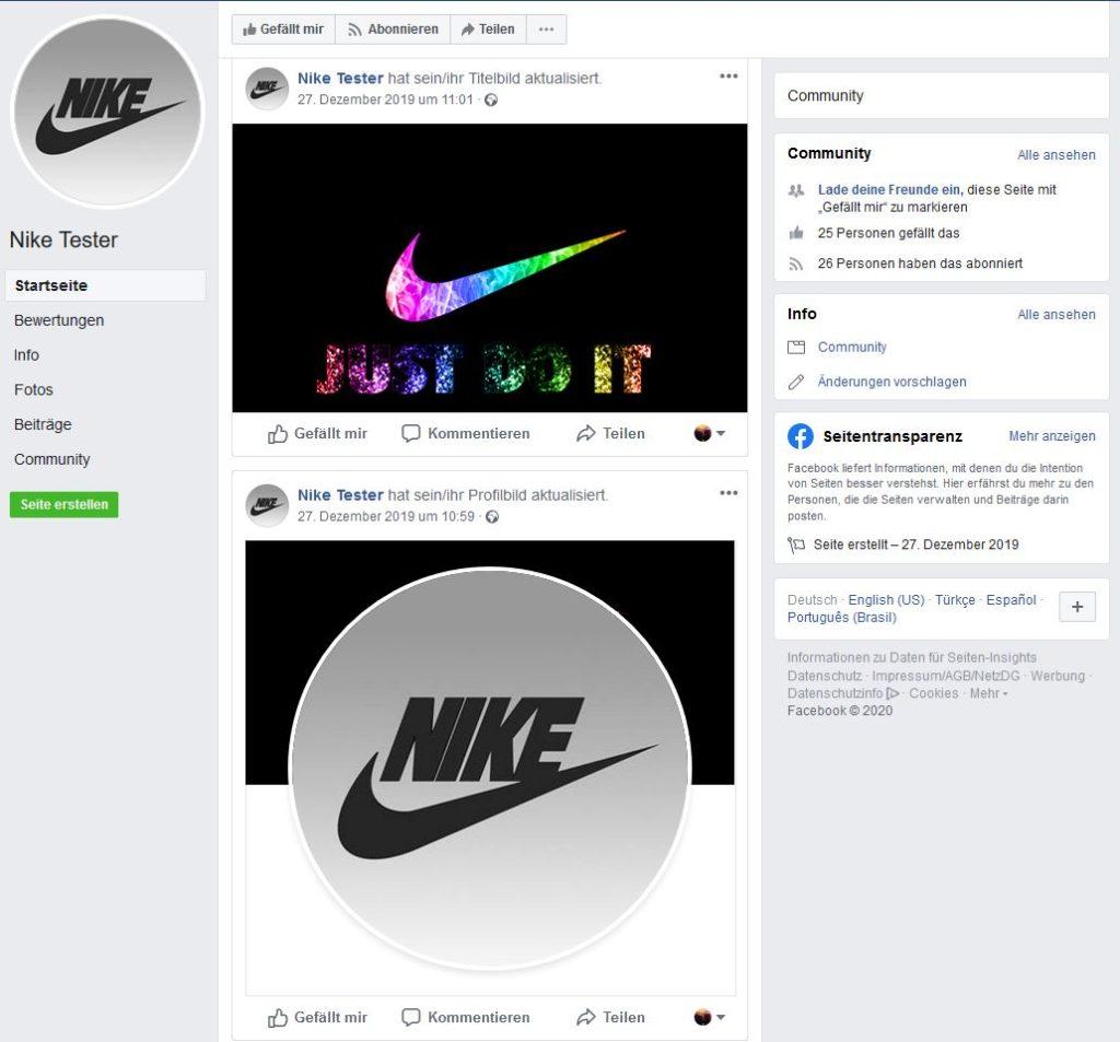Produkttest-Fakes das Profil