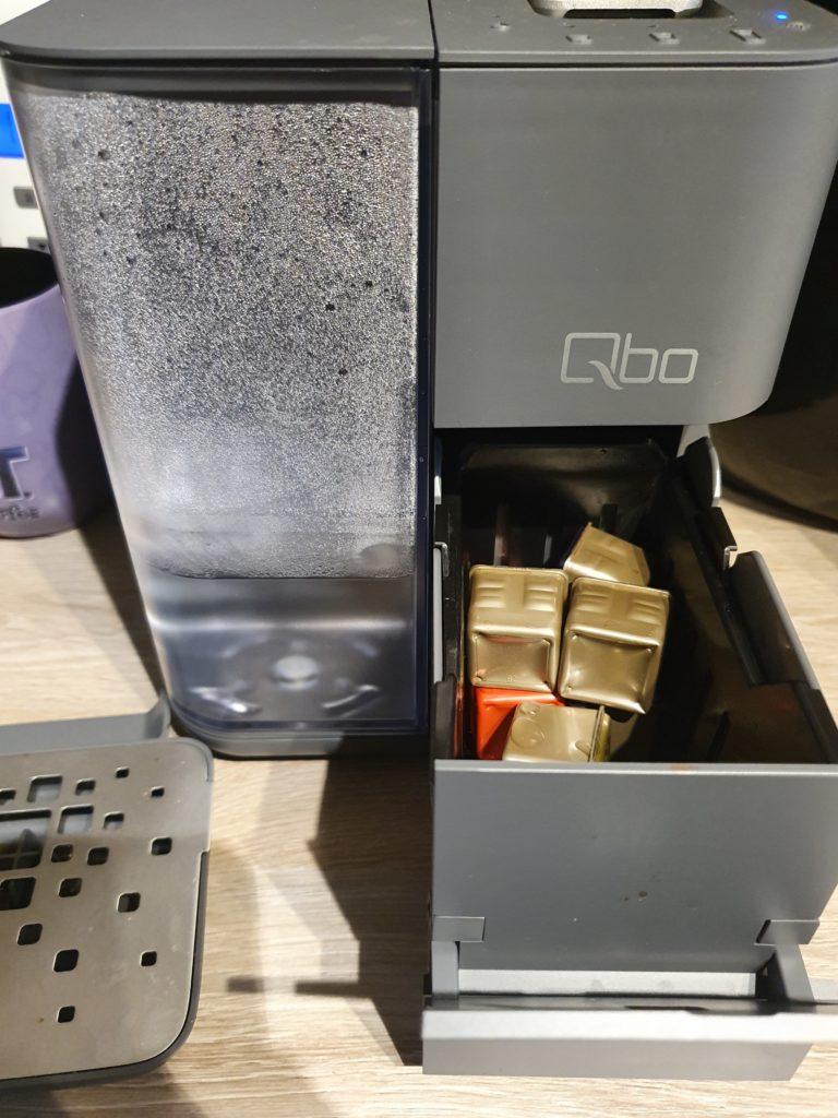 QBO Touch benutzte Kapseln
