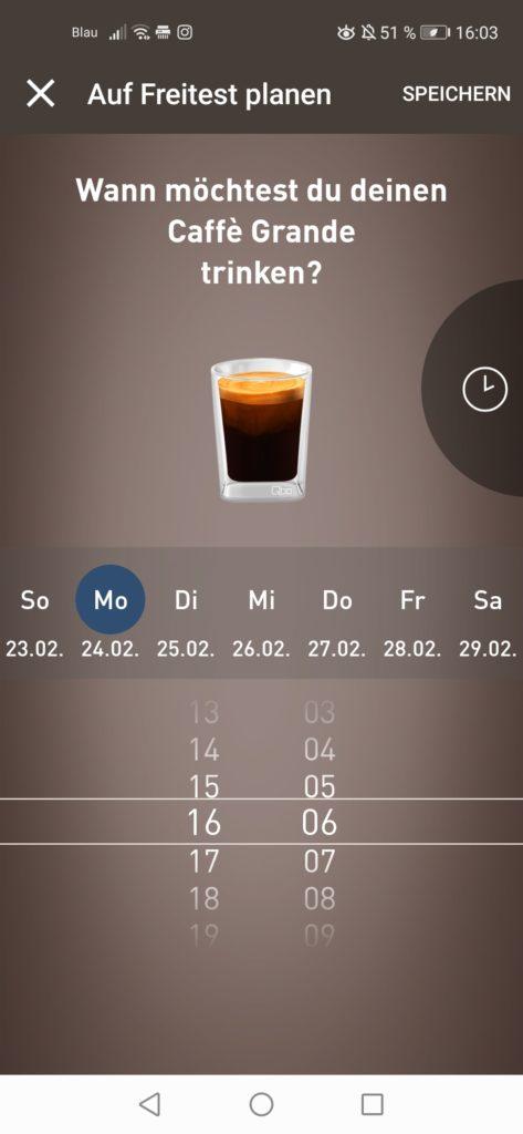 Kaffee planen