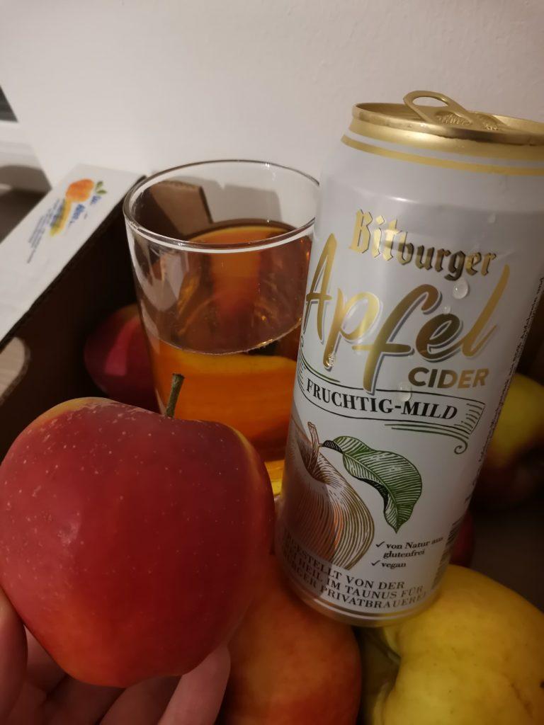 Brandnooz Box Classic März Bitburger Apfel Cider