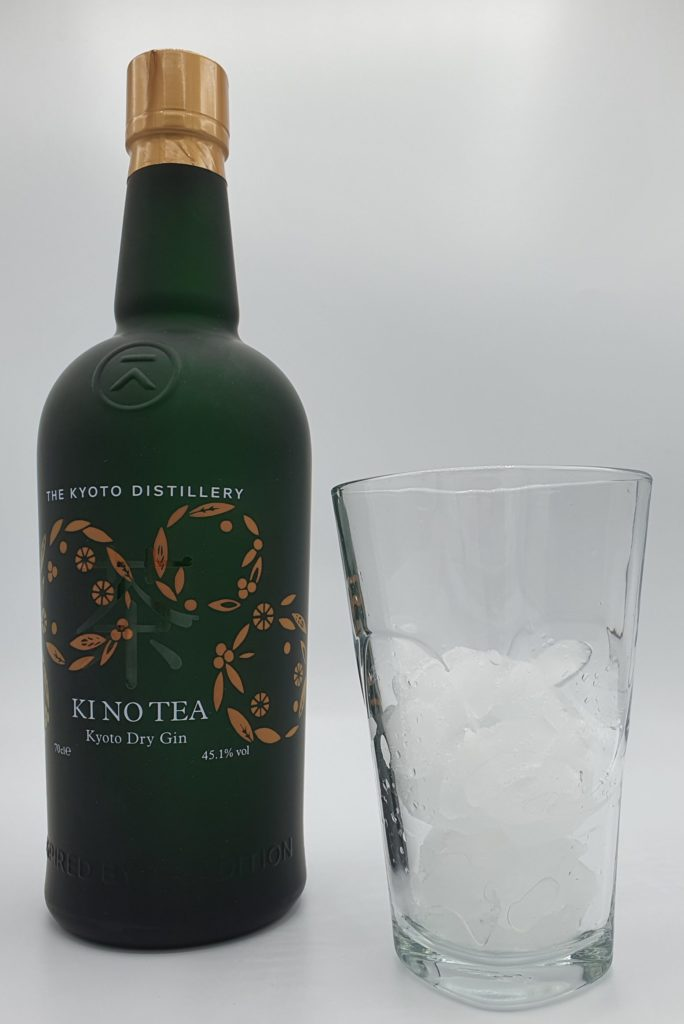 Kinobi Ki No Tea Kyoto Dry Gin on ice