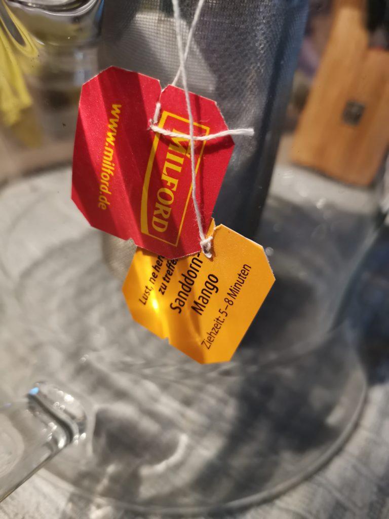 Brandnooz MILFORD Sanddorn-Mango Tee