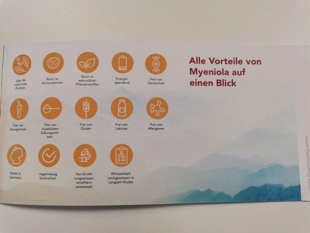 Vorteile von Myeniola