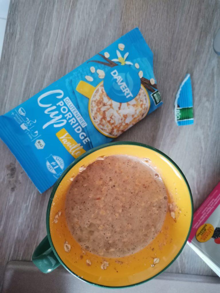 Davert Porridge Cup brandnooz