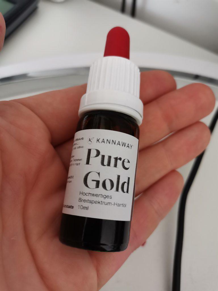 Pure Gold KANNAWAY Hanföl
