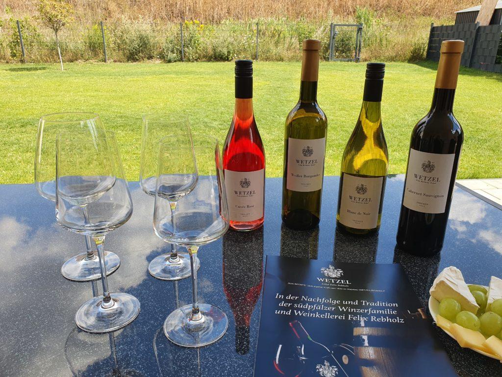 Weinprobe die Weine