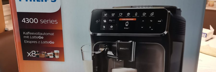 Philips latte go 4300 series kaffeevollautomat