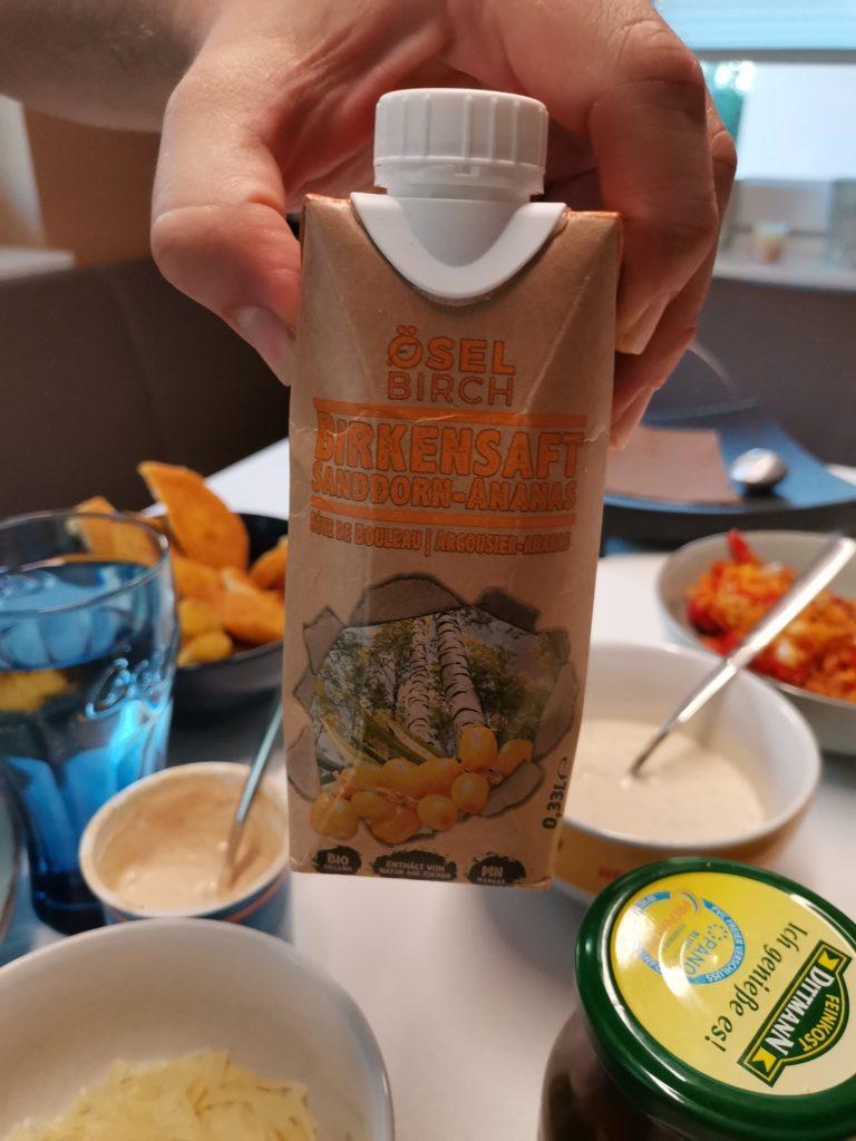 Öselbirch Brikensaft Sanddorn-Ananas