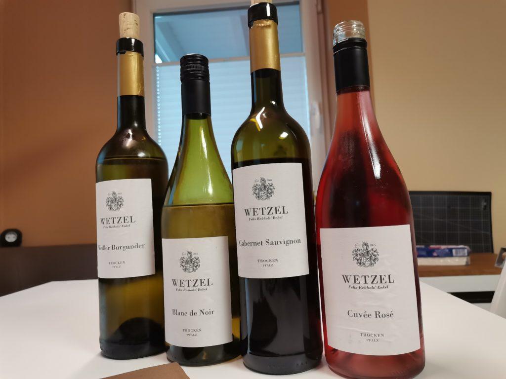 Weinprobe Weinkontor Wetzel