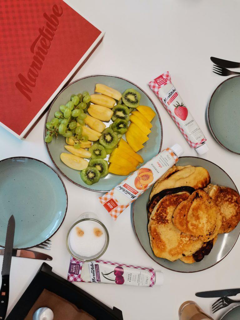 Frühstück mit Marmetube