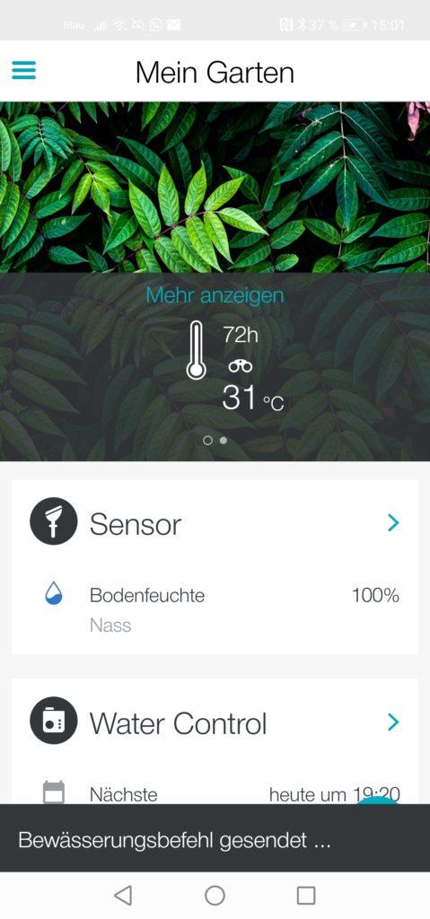 Gardena App