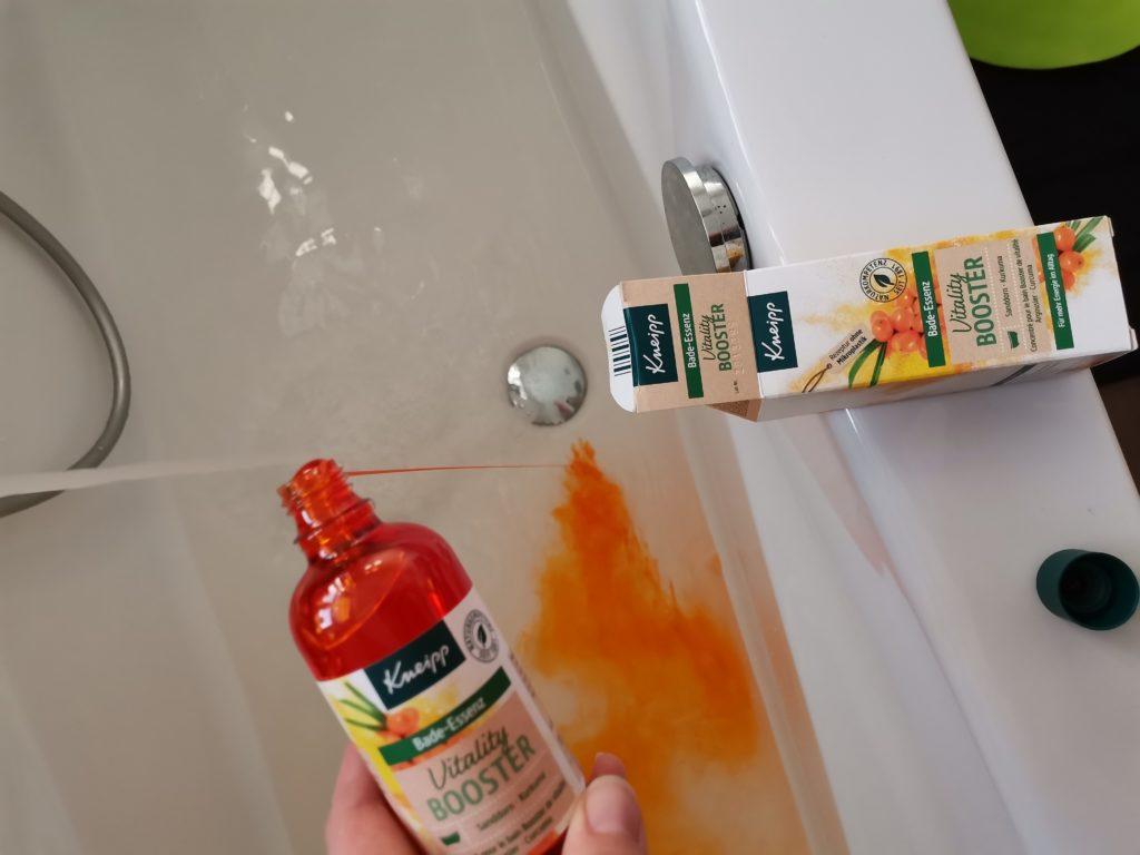 Vitality Boost Bade Essenz orange