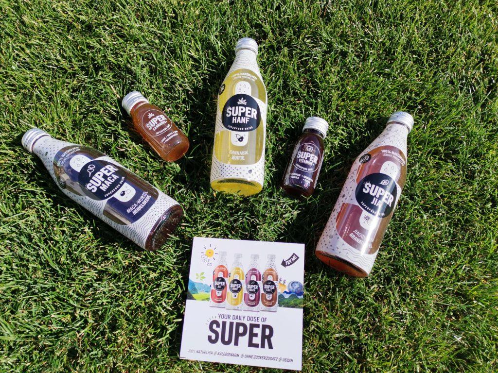 Super Getränke von Superfood Factory