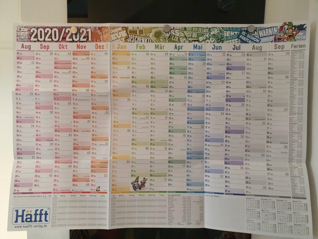 Häfft Wandkalender