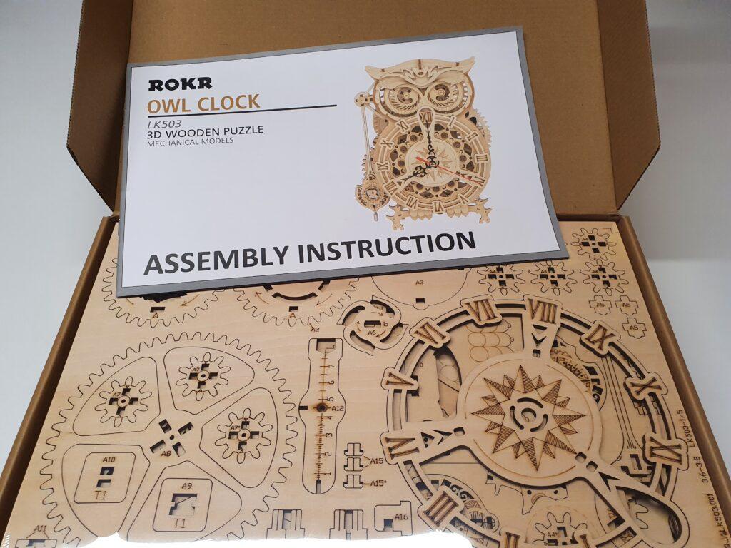 Anleitung MagicHolz Uhr