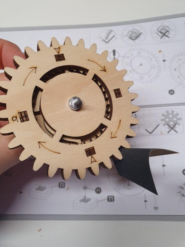 Anleitung zum Holzpuzzle