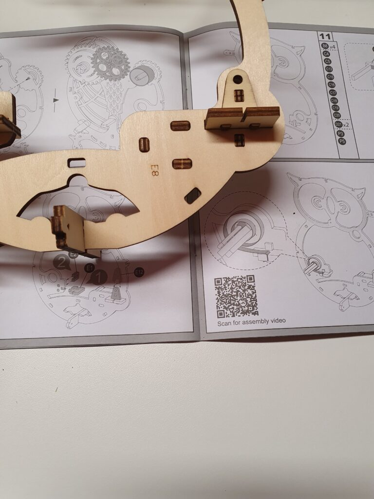 QR-Code Holzpuzzle