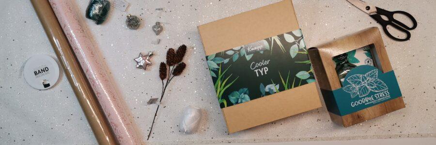 Weihnachten mit Kneipp Geschenkverpackungen