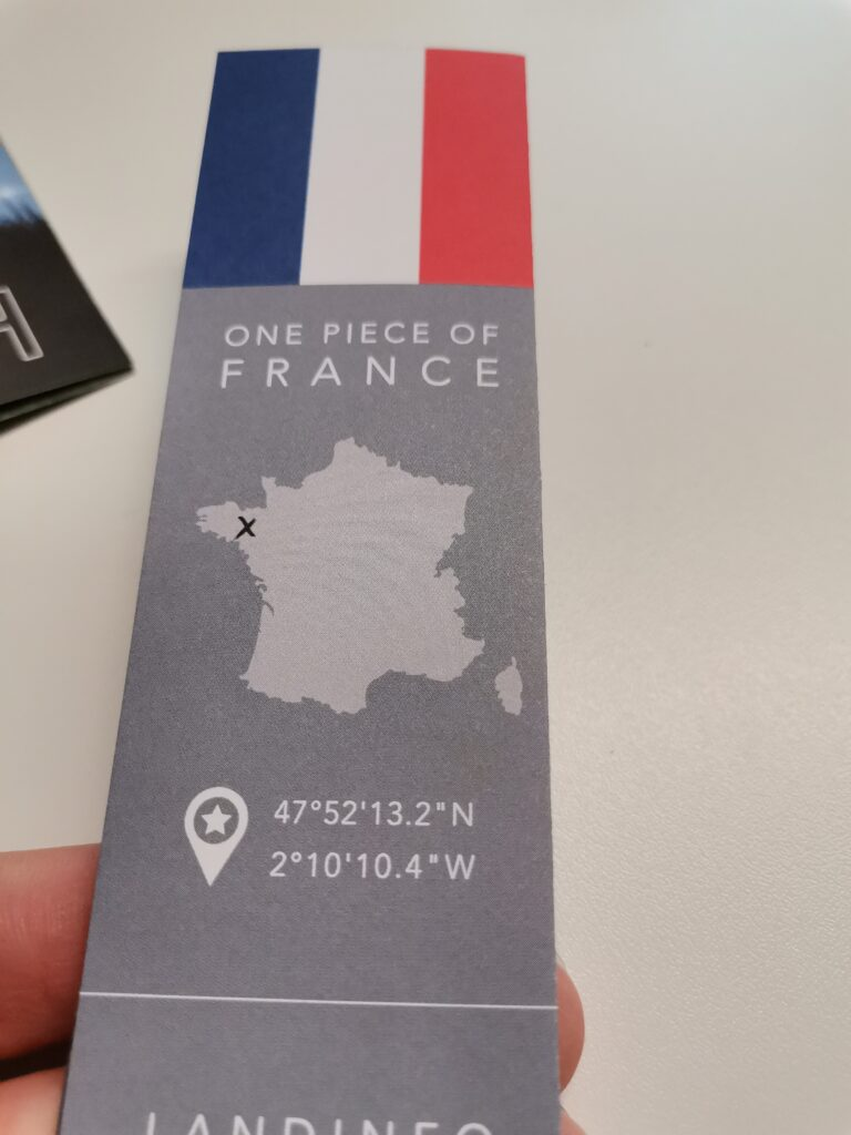 Frankreich als Geschenk