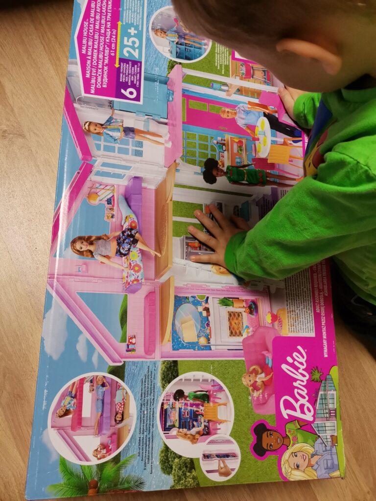 Barbie Malibu Haus Aufbau