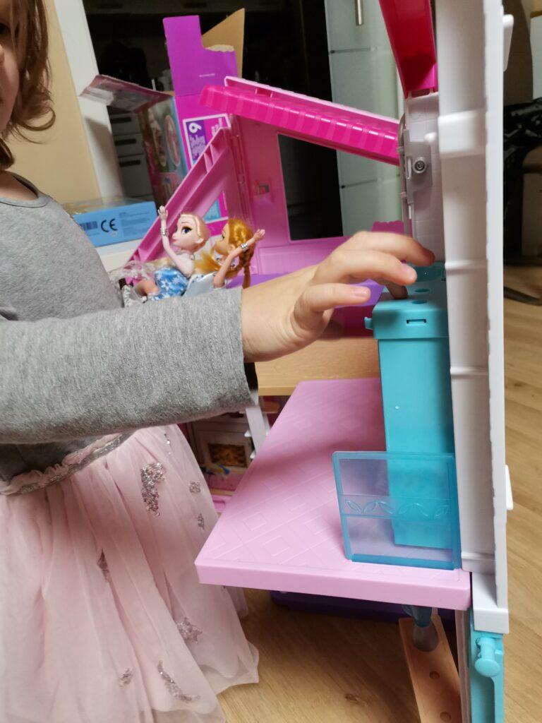 Aufbau Barbie Malibu Haus