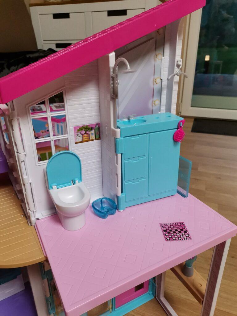 Barbie Malibu Haus Badezimmer