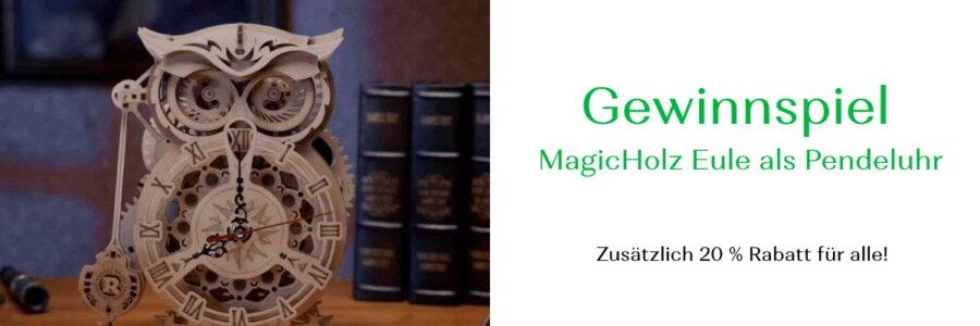 Gewinnspiel Uhr MagicHolz
