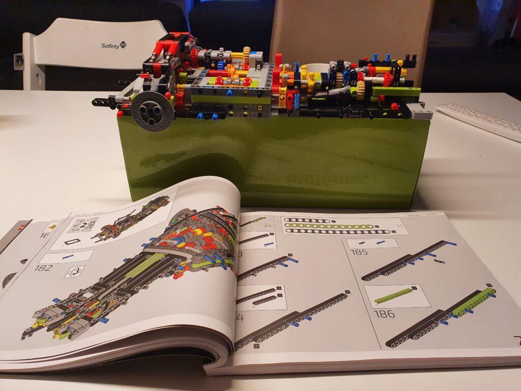 Anleitung und Bauabschnitt