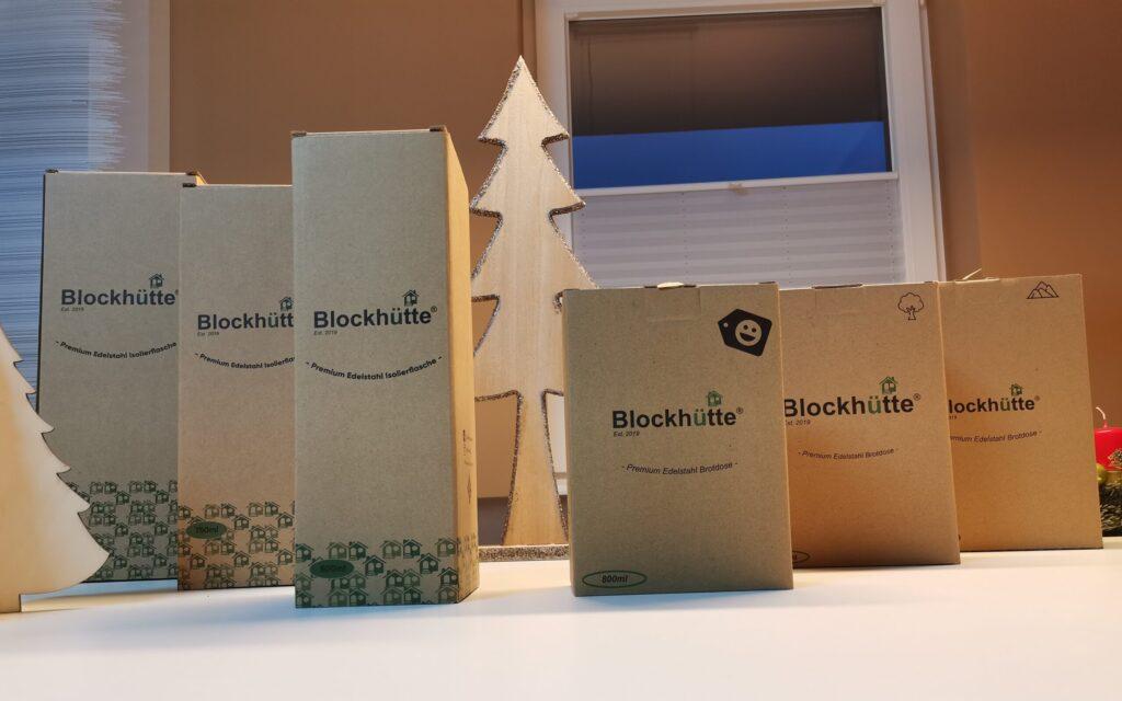 Blockhütte Produkttest