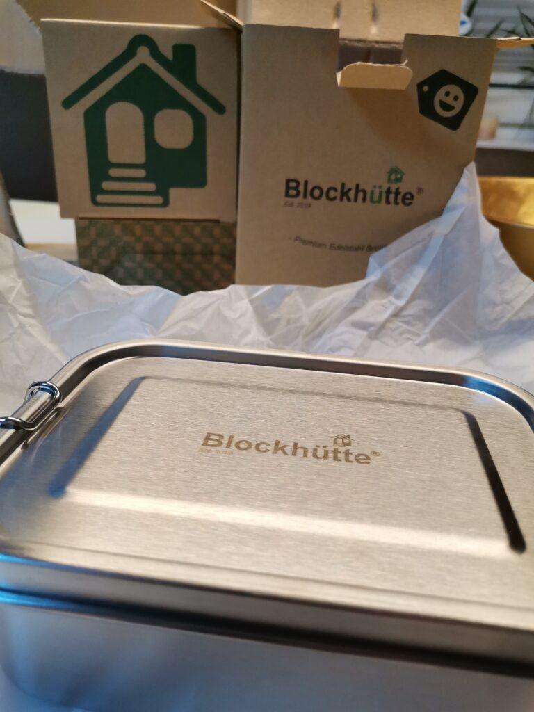 Ausgepackt Brotdose Blockhütte