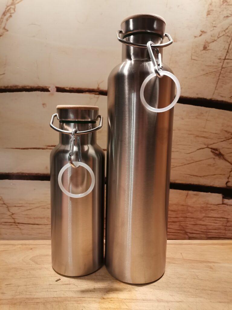 Blockhütte Flaschen