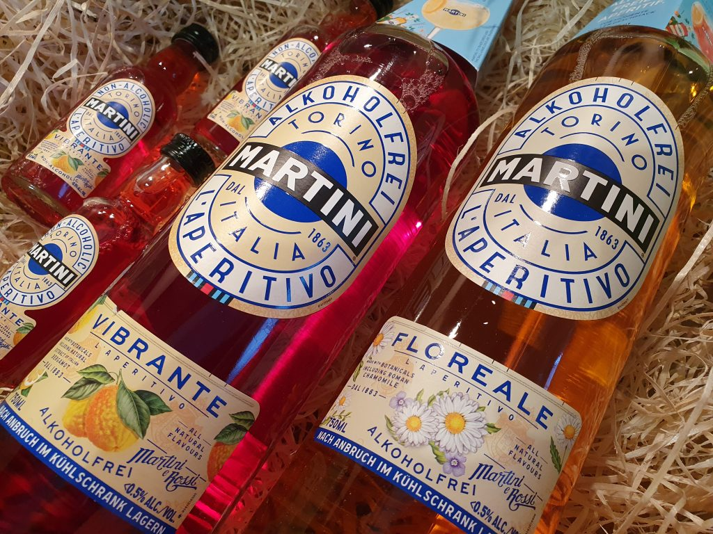 Martini Alkoholfreier Aperitif Floreale & Vibrante