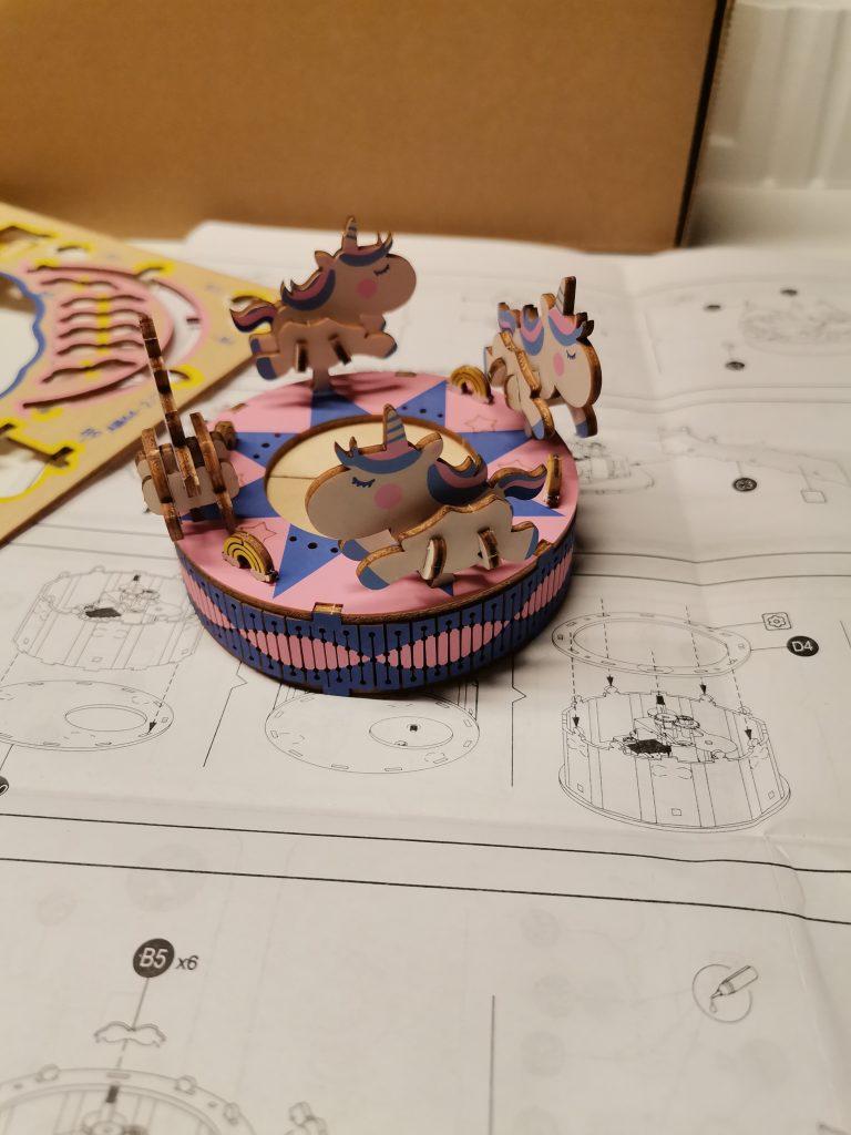 Spieluhr Einhörner