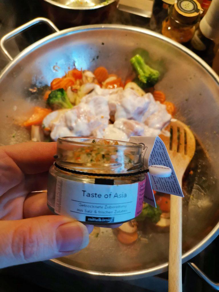 Wok Gemüse Taste of Asia