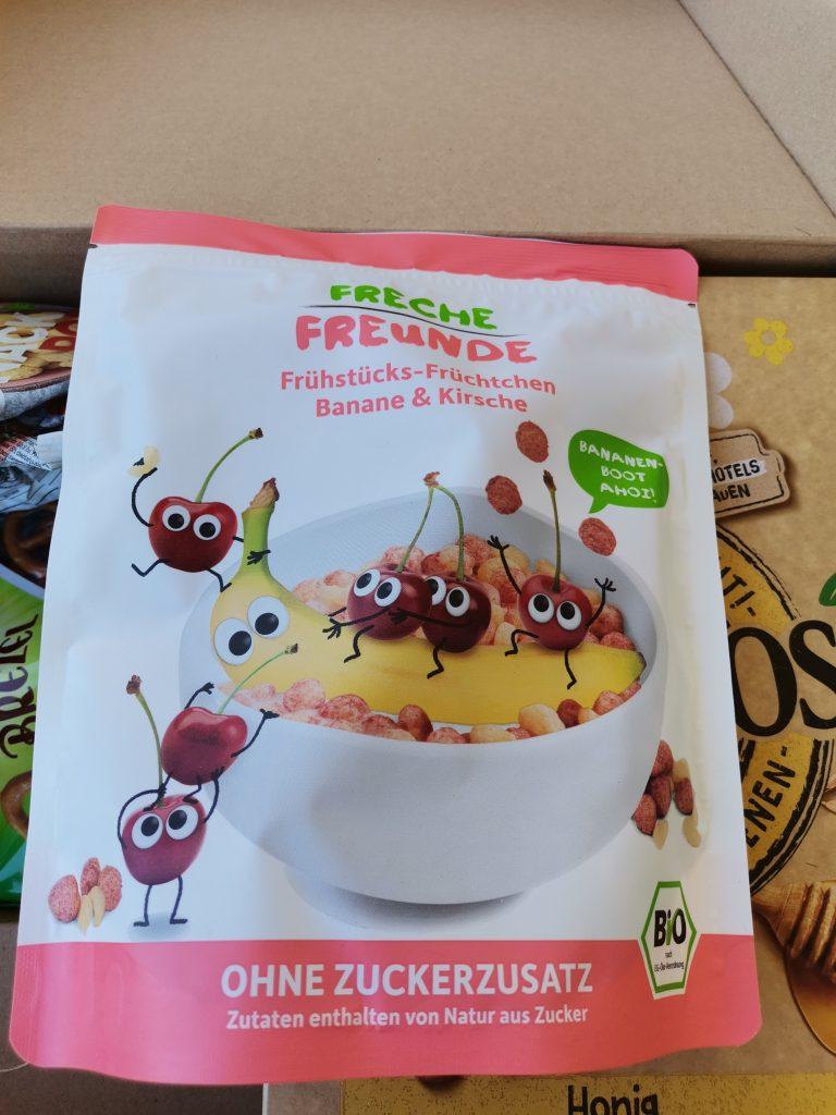 Freche Freunde Frühstück Banane Kirsch