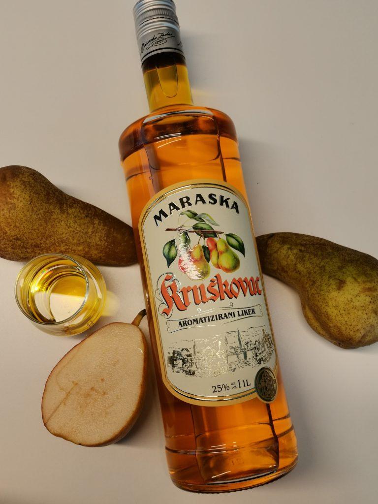 Birnenlikö aus Kroatien