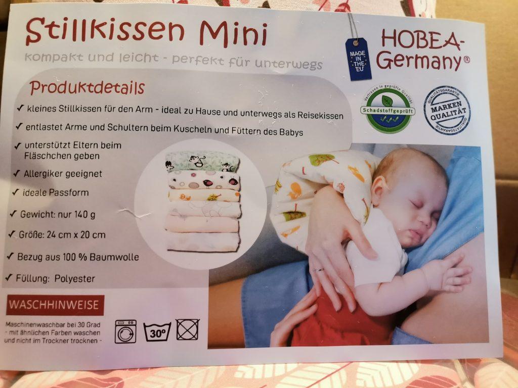Beschreibung Hobea Mini Stillkissen